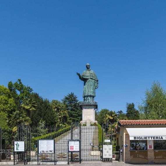 Statua di San Carlo, biglietteria