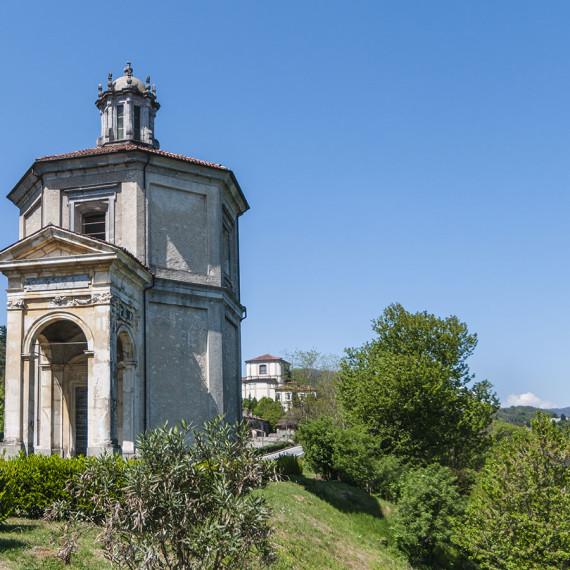 Arona, Sacro Monte incompiuto
