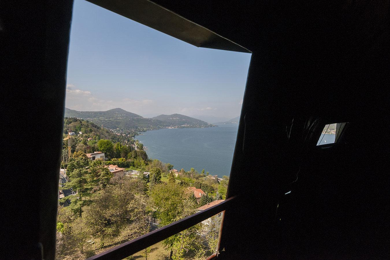 Panorama dal Sancarlone del Lago Maggiore