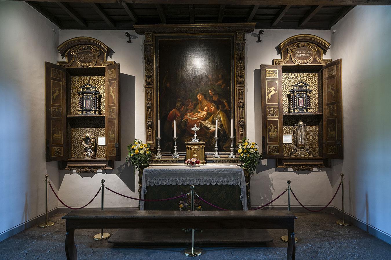 Chiesa San Carlo Borromeo, reliquie