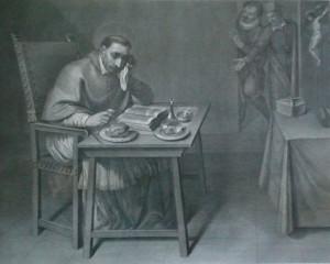 Dipinto San Carlo Borromeo