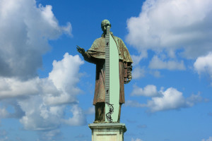 Sezione Statua San Carlone