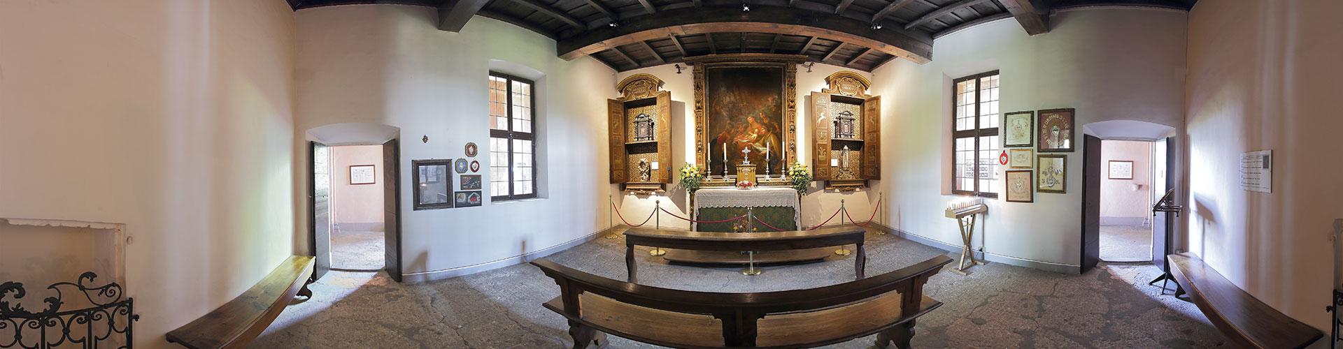 Sacrestia e reliquie di San Carlo Borromeo
