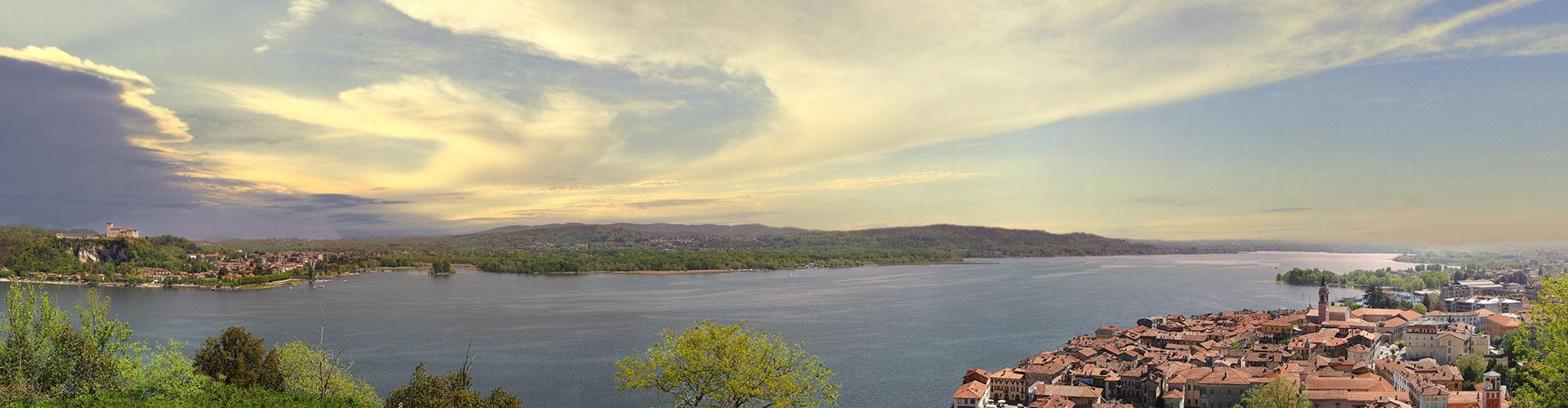 Il Lago Maggiore da Arona