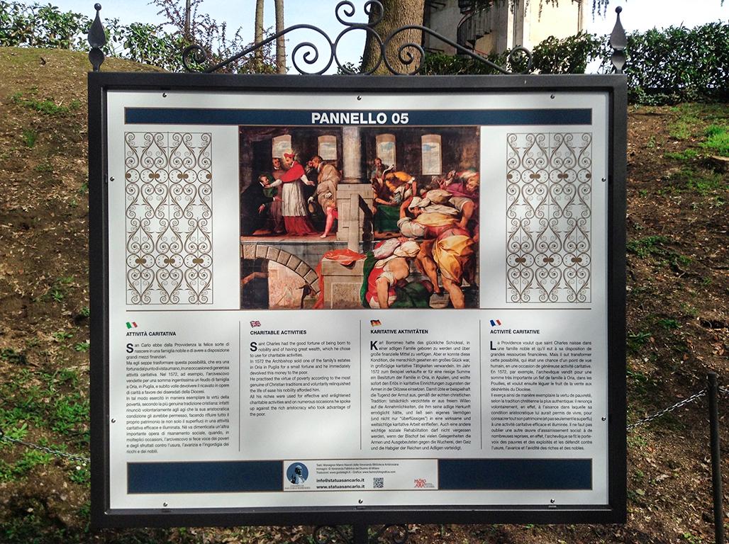 Pannelli storia di San Carlo