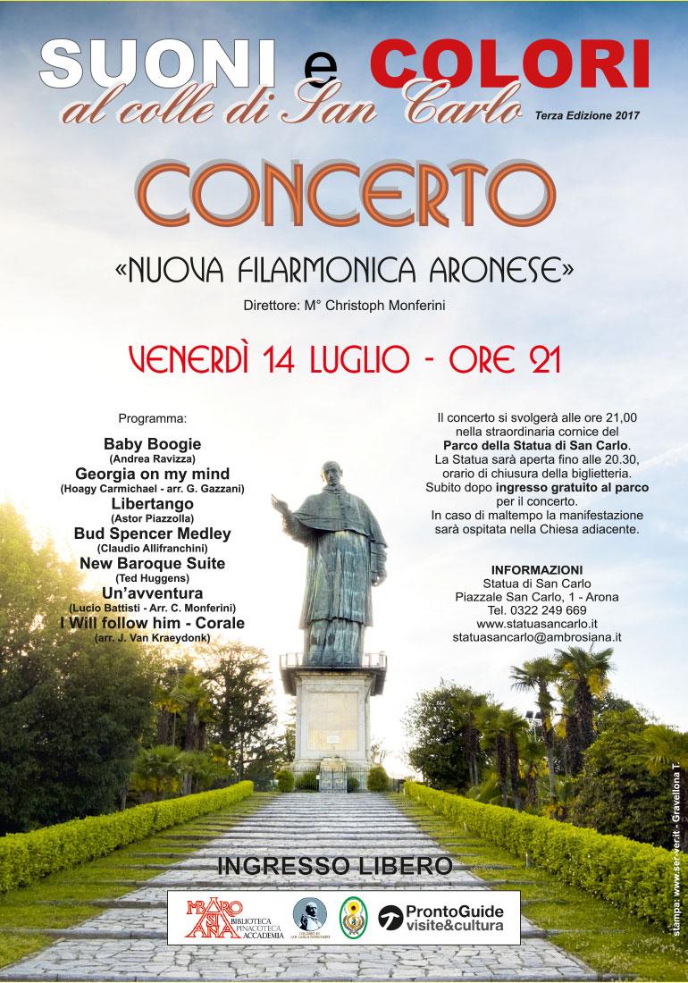 Locandina-Concerto Filarmonica Aronese